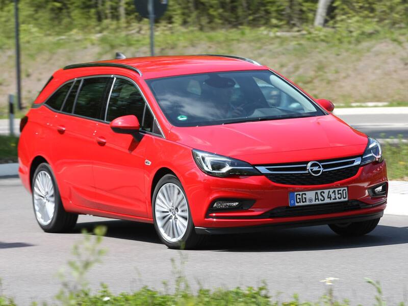 Vergleichstest Opel Astra Sports Tourer oder Peugeot 308 ...
